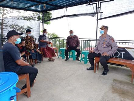 Pelaksanaan Stracing Terhadap OTG Di Banjar Dinas Gunung Sari Desa Tegallinggah
